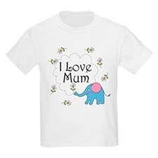 I Love Mum Cute T-Shirt