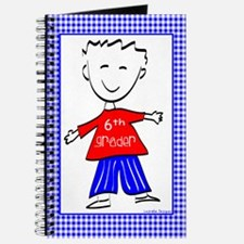 6th Grade Boy Journal