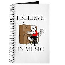 I BELIEVE IN MUSIC™ Journal