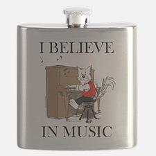 I BELIEVE IN MUSIC™ Flask