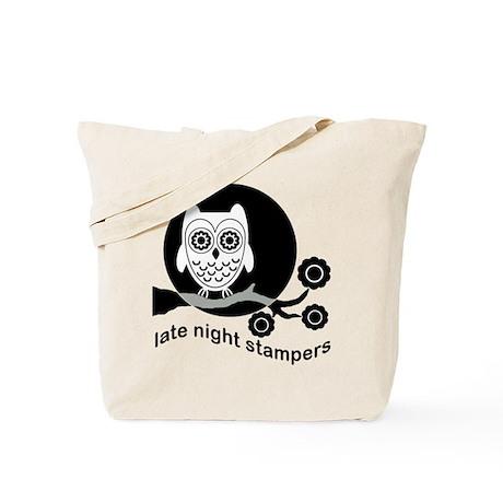 14x14 Light Master Late Night Stamper Tote Bag