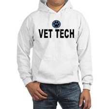 Vet Tech Blue Stripes Hoodie