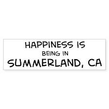 Summerland - Happiness Bumper Bumper Sticker