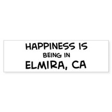 Elmira - Happiness Bumper Bumper Sticker