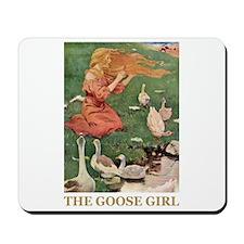 The Goose Girl Mousepad