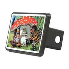 Gnome Outside his Toadstool Cottage Hitch Cover