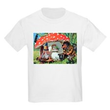 Gnome Outside his Toadstool Cottage T-Shirt