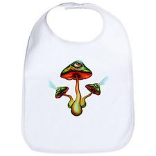 Mushroom Vision Bib