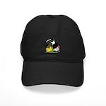 Japanese Bantam Group Black Cap