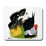 Japanese Bantam Group Mousepad