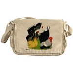 Japanese Bantam Group Messenger Bag