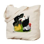 Japanese Bantam Group Tote Bag