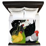 Japanese Bantam Group King Duvet