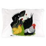 Japanese Bantam Group Pillow Case