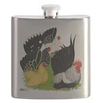 Japanese Bantam Group Flask