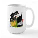 Japanese Bantam Group Large Mug