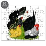 Japanese Bantam Group Puzzle