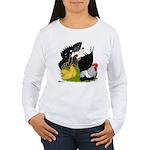 Japanese Bantam Group Women's Long Sleeve T-Shirt