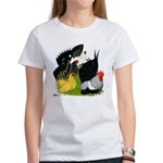 Japanese Bantam Group Women's T-Shirt