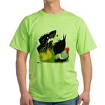 Japanese Bantam Group Green T-Shirt