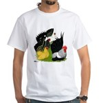 Japanese Bantam Group White T-Shirt