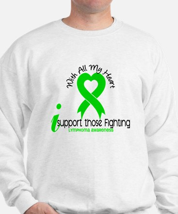 With All My Heart Lymphoma Jumper