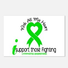 With All My Heart Lymphoma Postcards (Package of 8