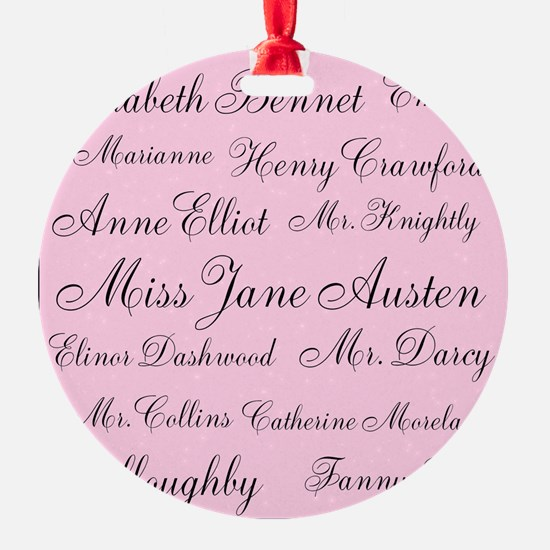 Forever Jane (pink) Ornament