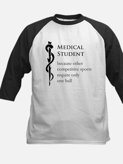 Medical Student Because... Kids Baseball Jersey