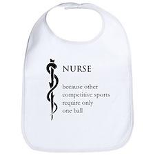 Nurse Because... Bib