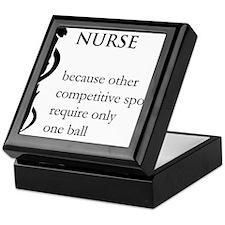 Nurse Because... Keepsake Box