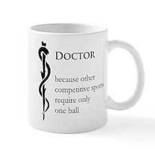 Doctor Because... Mug
