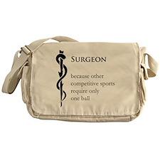 Surgeon Because... Messenger Bag