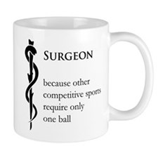 Surgeon Because... Mug