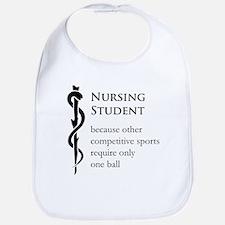Nursing Student Because... Bib