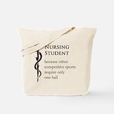 Nursing Student Because... Tote Bag