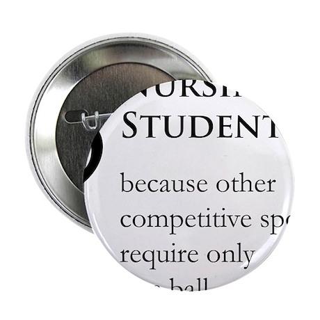 "Nursing Student Because... 2.25"" Button"