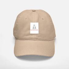 Determined Drosophila Baseball Baseball Cap