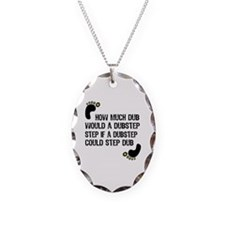 How Much Dub Necklace Oval Charm