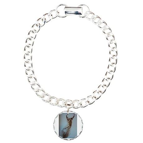 Pearl Lover-2 Charm Bracelet, One Charm