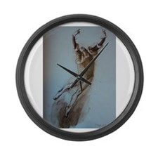 Pearl Lover-2 Large Wall Clock