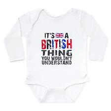 British Thing Onesie Romper Suit