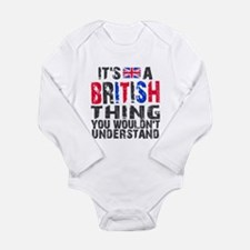 British Thing Onesie Romper Suit