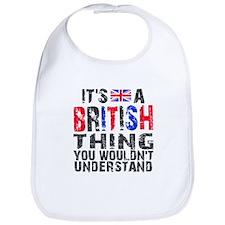 British Thing Bib