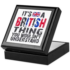 British Thing Keepsake Box