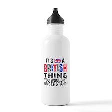 British Thing Water Bottle