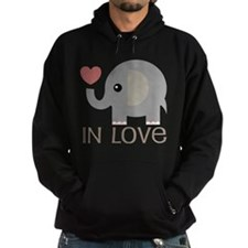 Dating In Love Elephant Hoody