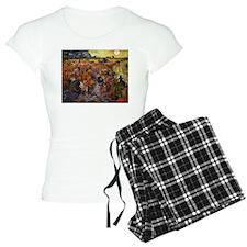 Van Gogh The Red Vineyard Pajamas