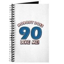 Nobody does 90 like me Journal