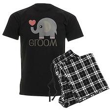 Groom Wedding Elephant Pajamas